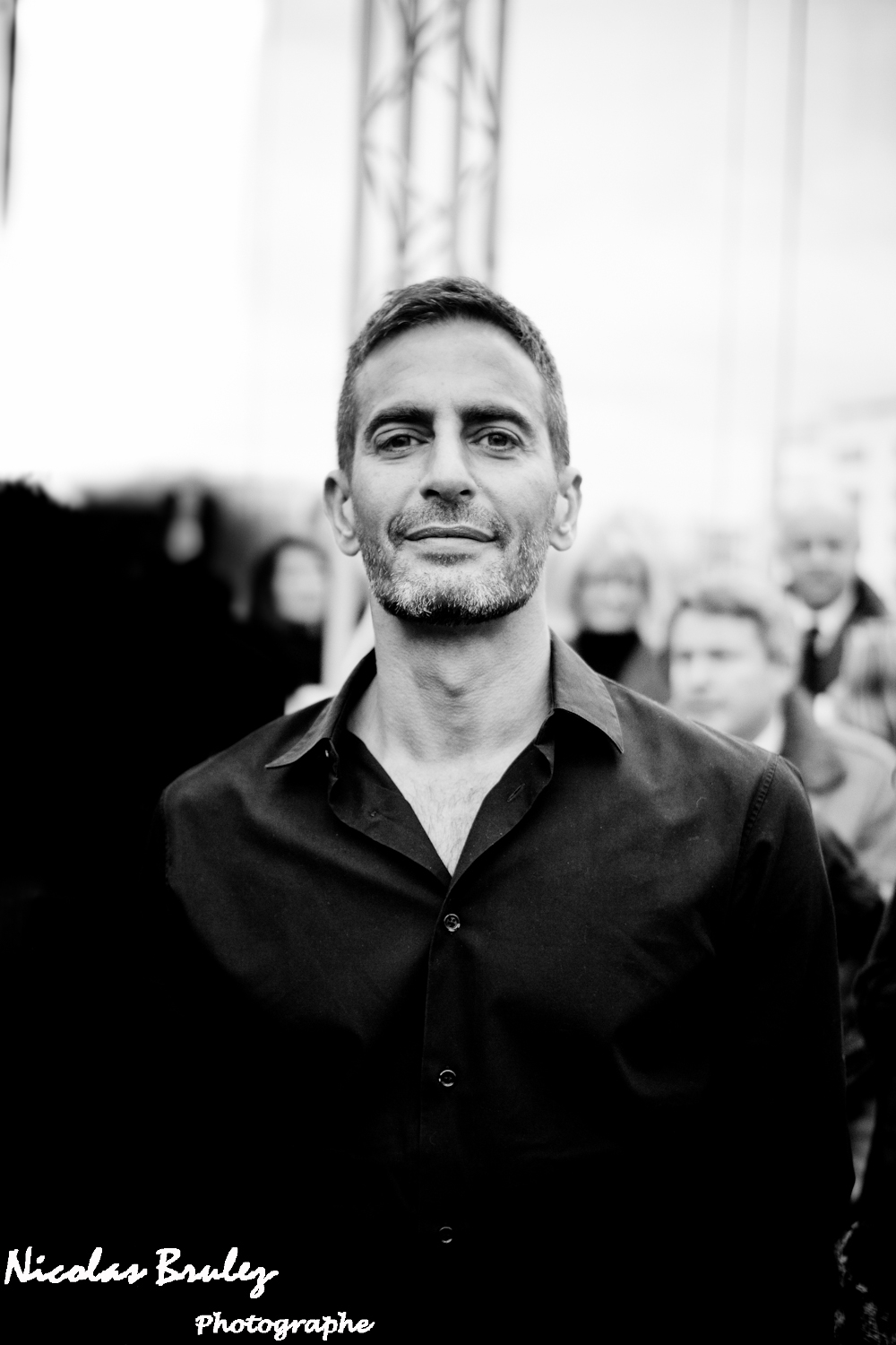 marc jacobs before the show by nicolas brulez