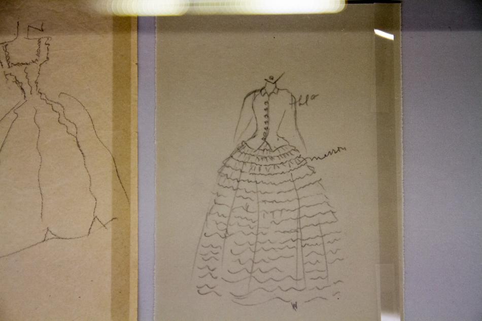 exposition Cristobal Balenciaga Collectionneur de modes à la cité de la mode et du design de Paris