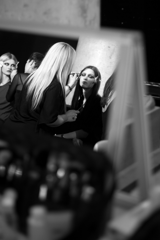 Paris Fashion Week Haute Couture backstages Stéphane Rolland ©nicolasbrulez