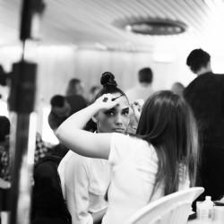 Jean Paul Gaultier Rosbif in spaces backstages