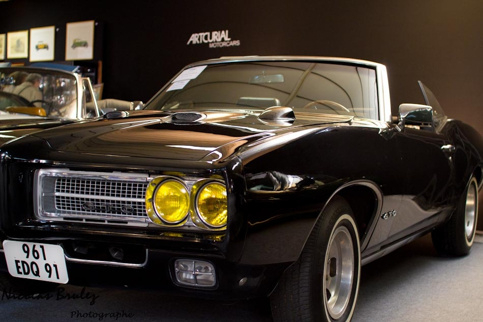 motorcars artcurial 2011, pontiac 1967 firebird noire