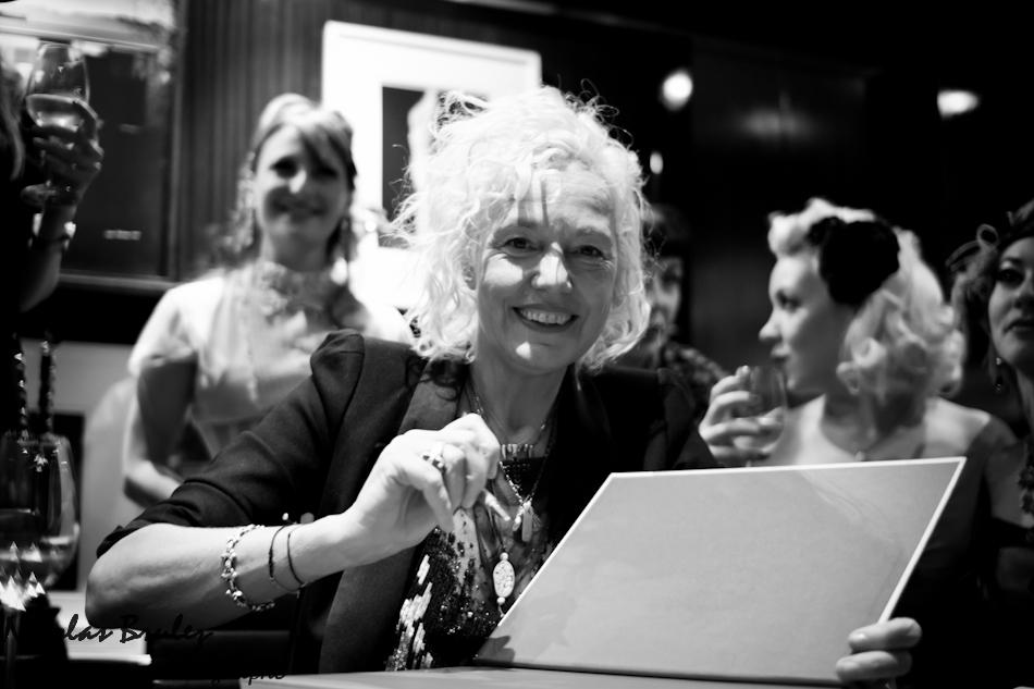 la photographe Ellen Von Unwerth pour la sortie de son livre FRAULEIN aux éditions TASCHEN
