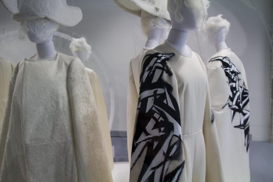 Rei Kawakubo de Comme des Garçons à la cité de la mode et du design Les Docks Paris