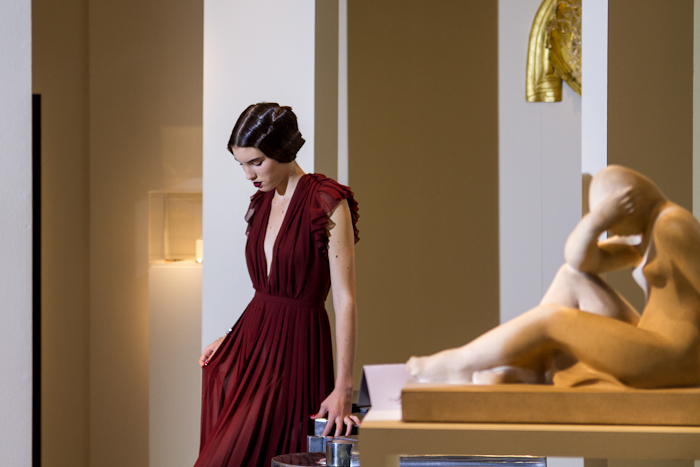 Shooting Stiletto La Biennale des Antiquaires 2012